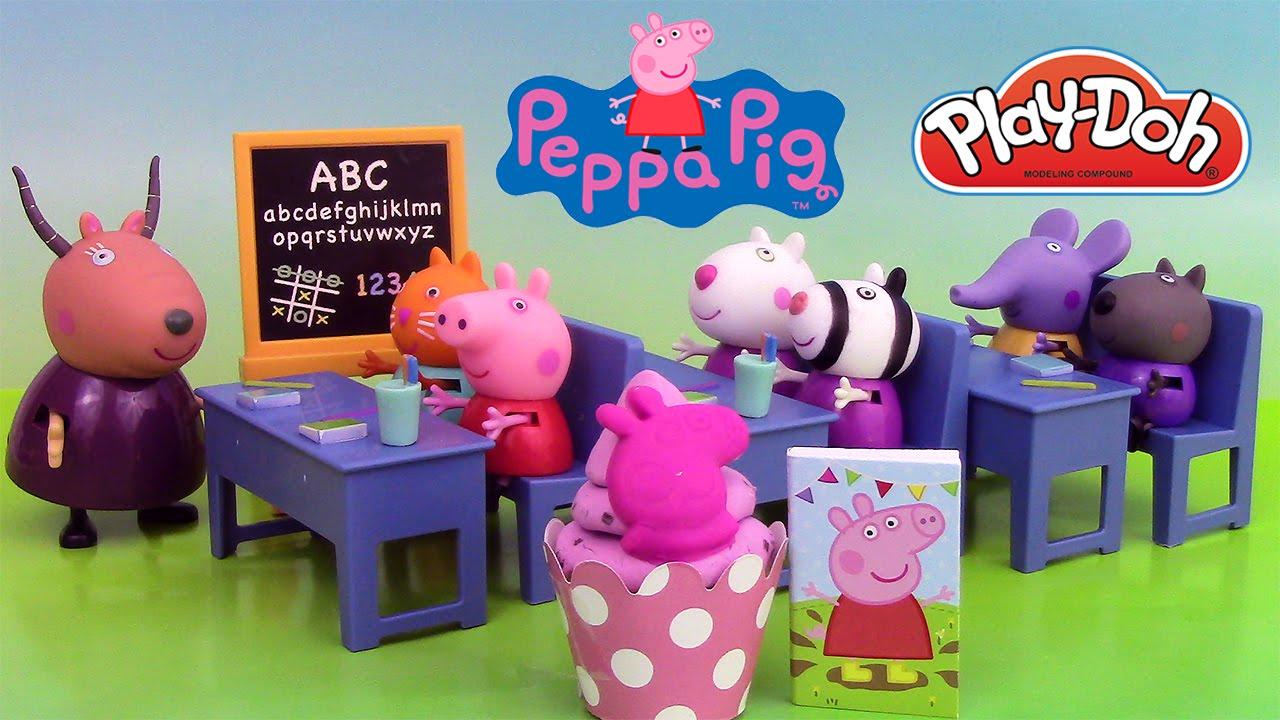 peppa pig salle de classe jouets peppa pig classroom playset youtube. Black Bedroom Furniture Sets. Home Design Ideas