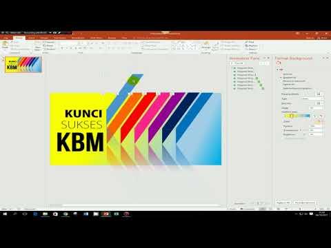 Tutorial Cara Desain Slide Judul Presentasi yang Baik, Menarik dan Atraktif