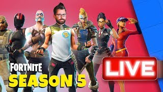 Goose Drops In To Fortnite Season 5! | Stream