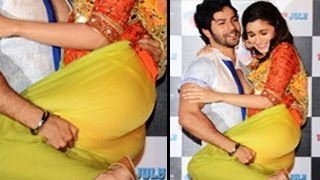 alia-bhatt-s-flashes-panty-at-humpty-sharma-ki-dulhania-trailer-launch