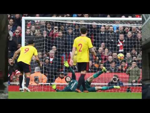 Исторический день Арсенала   Чех отбил пенальти Мхитарян первый гол в АПЛ