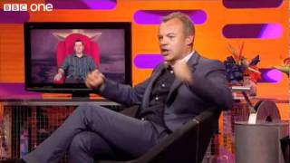 Adele Operates The Red Chair - The Graham Norton Show.- BBC One.Funny Adele Clip