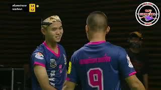 Men's Double Street Takraw// Thailand Sepak Takraw// Thai PBS