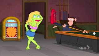 Family Guy   Frog And Monkeys In A Bar