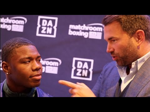 'I BET YOU'RE THINKING HOW COULD 80,000 PEOPLE BOO ME' - EDDIE HEARN TO NEW SIGNING OTHA JONES III