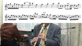 G. F. Handel / Alto Recorder Sonata in C Major HWV365