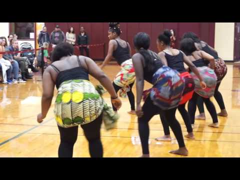 NHTI (Concord, NH) Multicultural Day 2017 -- African Cultural Club.