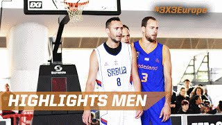 Final Highlights - Serbia v Netherlands - Netherlands - 2016 FIBA 3x3 Europ. Championship Qualifier