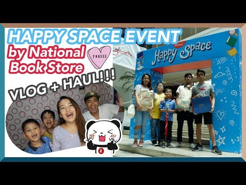 BACK TO SCHOOL HAUL (AGAIN!!!) - HAPPY SPACE AT NATIONAL BOOK STORE   Bianca Magsino (Philippines)