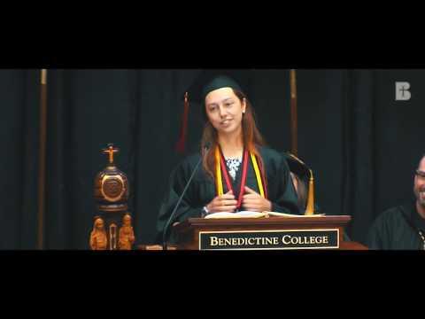 Laura Tibbs Valedictorian Speech 2017 - Benedictine College
