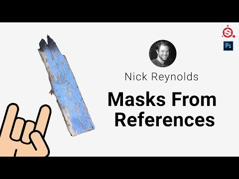 Nick Reynolds: Masks From References [Substance Painter, Photoshop]