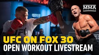 UFC on Fox 30 Open Workouts –MMA Fighting