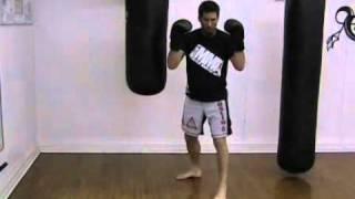Punching the Heavy Bag – Boxing Basics – Double Jab/Cross