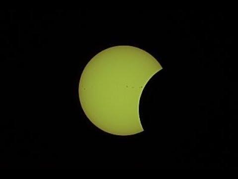 ASRAS Live Stream of 2017 Solar Eclipse at Farash Center, Ionia, NY