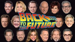 BACK TO THE FUTURE table read starring an entirely DIFFERENT CAST!