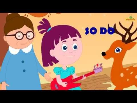 Doe A Deer - Popular English Nursery Rhymes with Lyrics