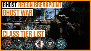 Ghost Recon Breakpoint Ghost War - Class Tier List