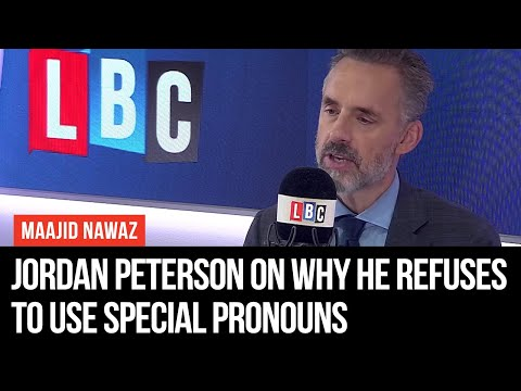 Jordan Peterson On Why He Refuses To Use Special Pronouns For Transgender People