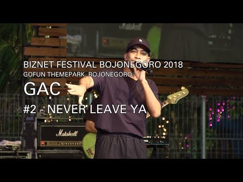 Biznet Festival Bojonegoro : GAC - Never Leave Ya