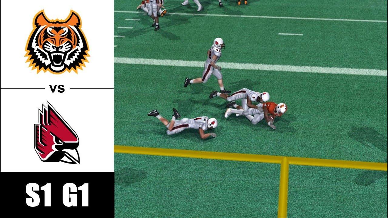 Idaho State vs Ball State - S1 G1 - NCAA Football 06 Dynasty - PCSX2