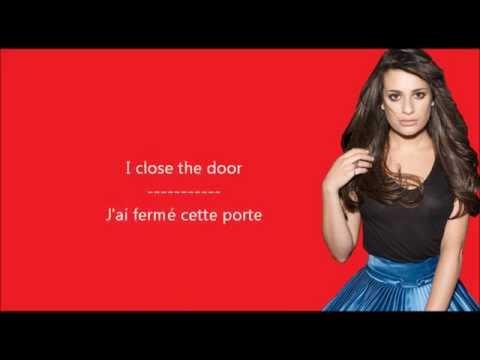 Lea Michele - Cannonball / Paroles & Traduction