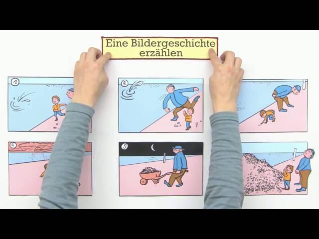 Erzahlung Bildergeschichten Erzahlen Deutsch Texte Schreiben Youtube