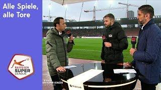 Alle Spiele, alle Tore - RSL 18/19 Runde 29, Sonntag