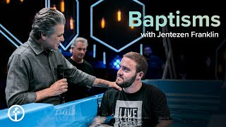 Baptisms with Pastor Jentezen Franklin