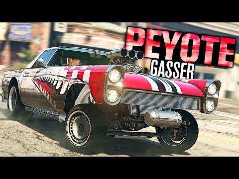 GTA 5 Online - NEW Vapid Peyote Gasser Customization! (Diamond Casino)