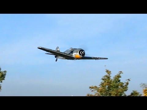 RC EPO Focke-Wulf FW-190 Parkzone Jagdflugzeug , Flight Demonstration *50fpsHD*