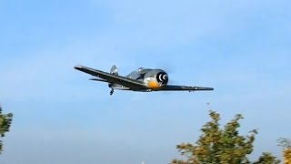 RC EPO Focke-Wulf FW-190 Parkzone Jagdflugzeug , Flight Demonstration *50fpsHD*