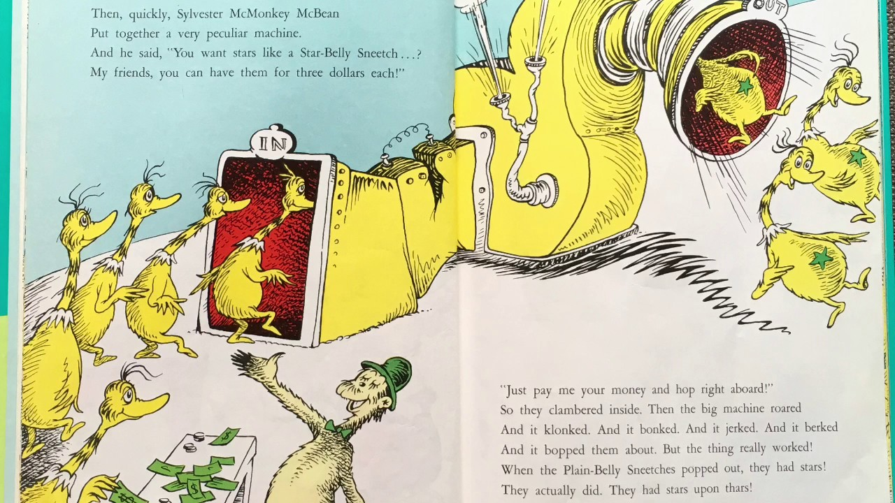 The Sneetches by Dr. Seuss (Read by Mr. C) - YouTube