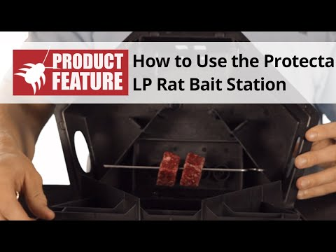How to Use the Protecta LP Rat Bait Station - Protecta LP Rat Bait Station Review