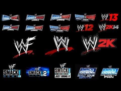 WWE Games History (2000-2013)