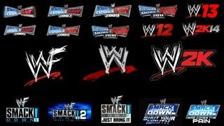 WWE Games History (2000-2013)