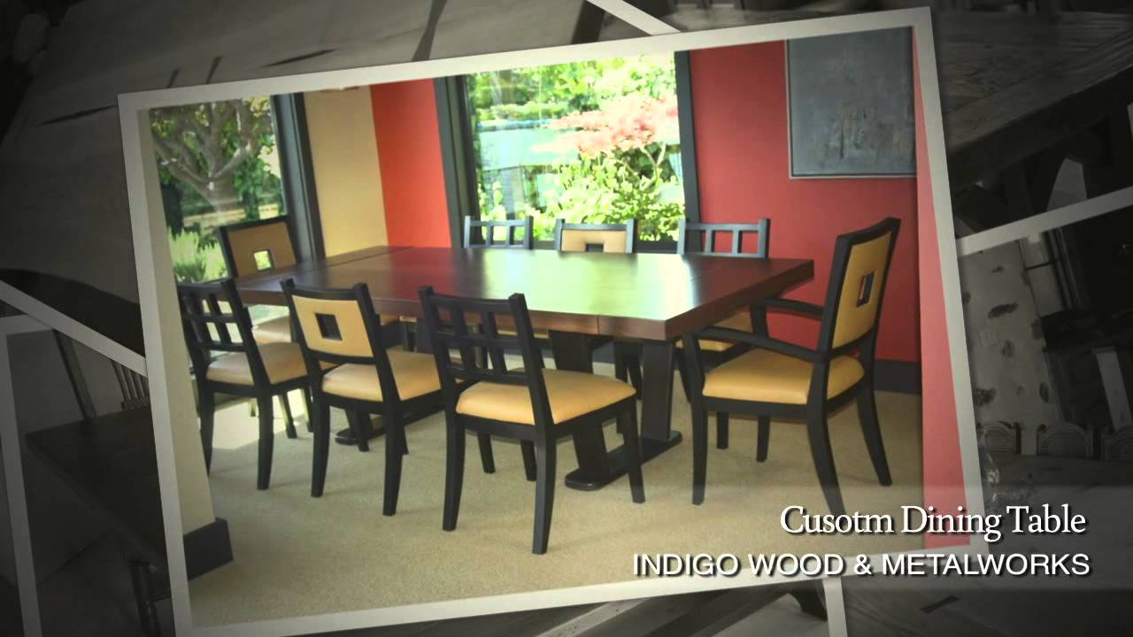 Custom dining room tables gallery slideshow custommade for Dining room tables you tube
