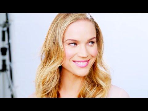 Makeup tutorial: Rosiga kinder och läppar
