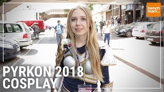 Cosplay na Pyrkonie 2018