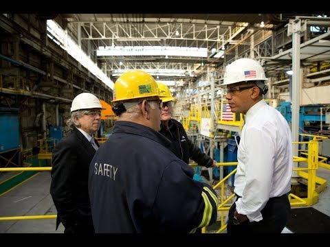 President Obama Speaks on Manufacturing and the Economy