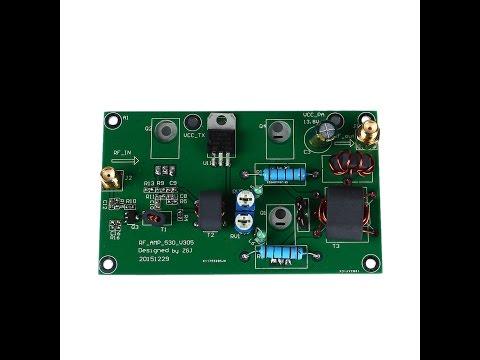 Power Amplifier 45W из Китая настройка и тестирование