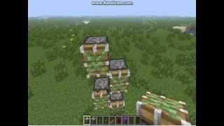 Туториал как сделать лифт в minecraft 1.5.2(Лифт можно сделать хоть во сколько этажей. Главное ,чтобы рэдстоун не пересикался., 2014-01-11T08:15:37.000Z)