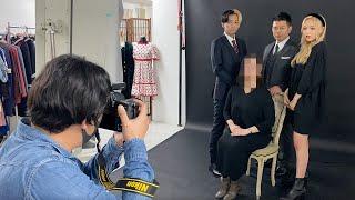 【華麗なる一族】家族写真を撮ってきました【宮迫夫妻×ねお×ヒカル】
