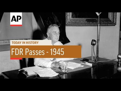 FDR Passes - 1945 | Today In History | 12 Apr 17