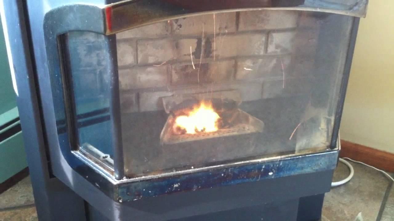 harman advance pellet stove youtube