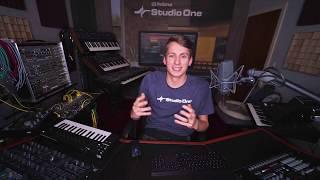 PreSonus Studio One Tutorials Ep. 9: Tracks and Channels