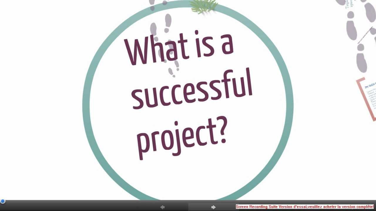 what is project success When looking at project success, project failure and its recognition and avoidance is an important part of success an important contributor to failure is complexity.