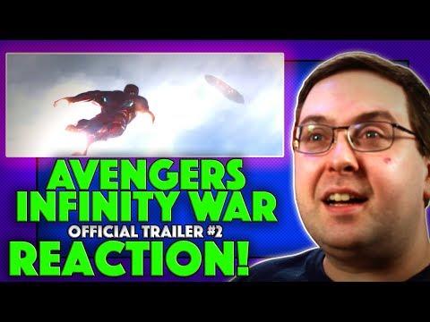 REACTION! Avengers: Infinity War  2  Chris Evans Marvel Movie 2018