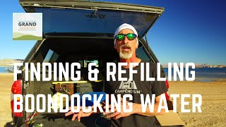 Ep. 14: Finding and Refilling Boondocking Water | RV How-to tips & tricks