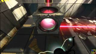 Portal 2 Walkthrough Part 5 - Chapter 2 : The Cold Boot Level 1-6
