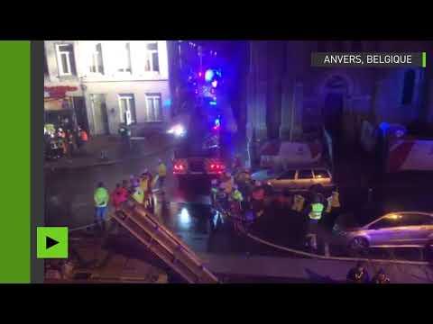 Anvers : l'étendue des dégâts après l'explosion survenue dans le centre